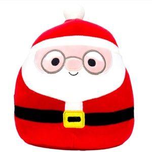 Squishmallow NICK, the Santa Claus